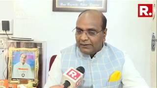 BJP MLA Vishvas Sarang Slams Adhir Ranjan Chowdhury Over 'Rape In India' Statement