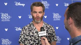 D23 Expo: 'A Wrinkle in Time' star Chris Pine talk working with Ava DuVernay & Patty Jenkins