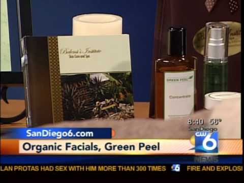 Balensi Spa's Green Peel-Purely Plant Based Formula- Featured in CW6 San Diego