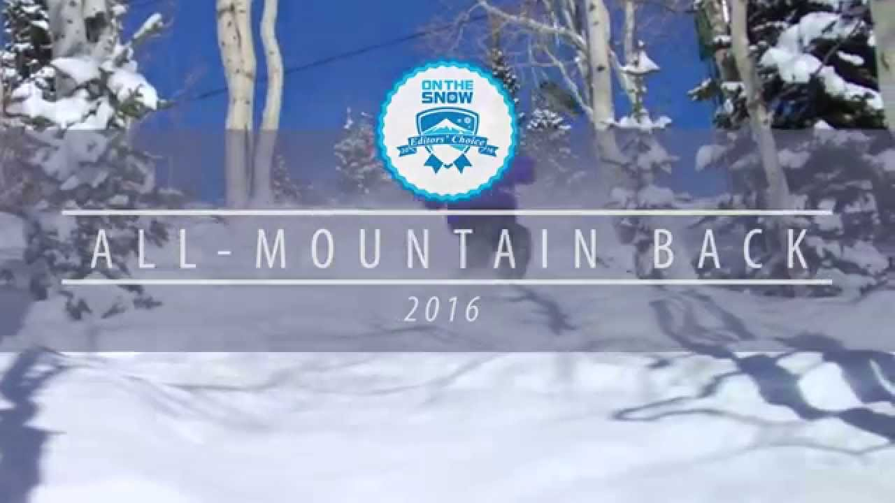 OnTheSnow Editors' Choice Skis: 2015/2016 Men's All-Mountain Back