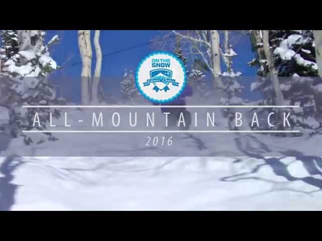 OnTheSnow Editors' Choice Skis: 2015/2016 Men's All-Mountain Back