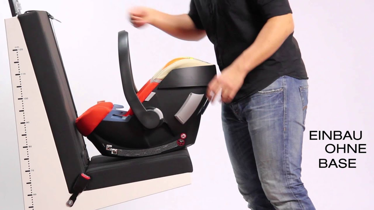 cybex aton 4 happy black au meilleur prix sur. Black Bedroom Furniture Sets. Home Design Ideas