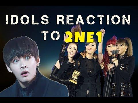 [TOP 10] IDOLS REACTING TO 2NE1!