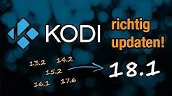 Anleitung: Zu Kodi 18.1 updaten auf dem Fire TV