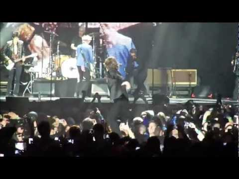 The Rolling Stones - Paint It, Black. O2 Arena, London. 29.11.2012