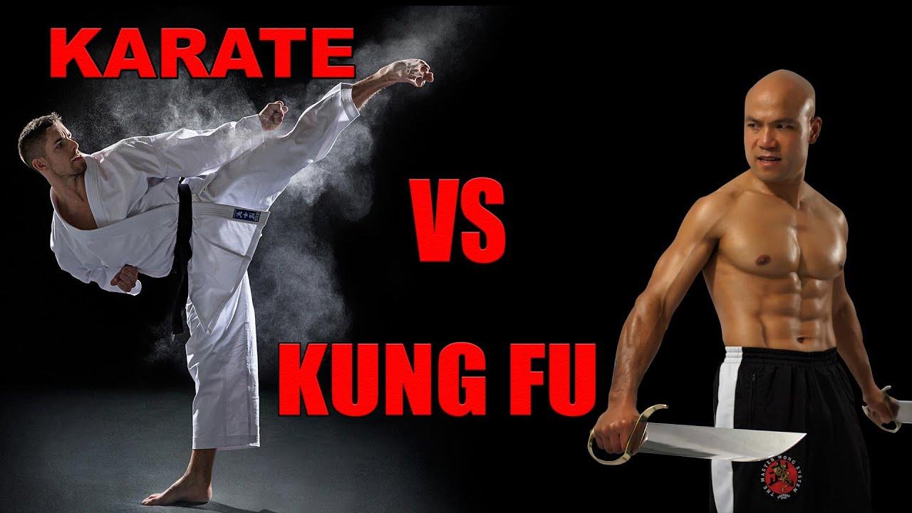 karate vs kung fu - YouTube