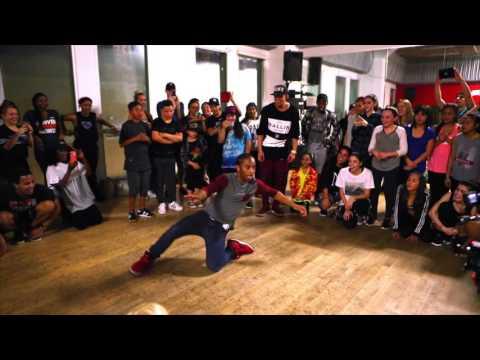 "Matt Steffanina's ""WORK"" Choreo   JUSMOVE Winner Quinn"