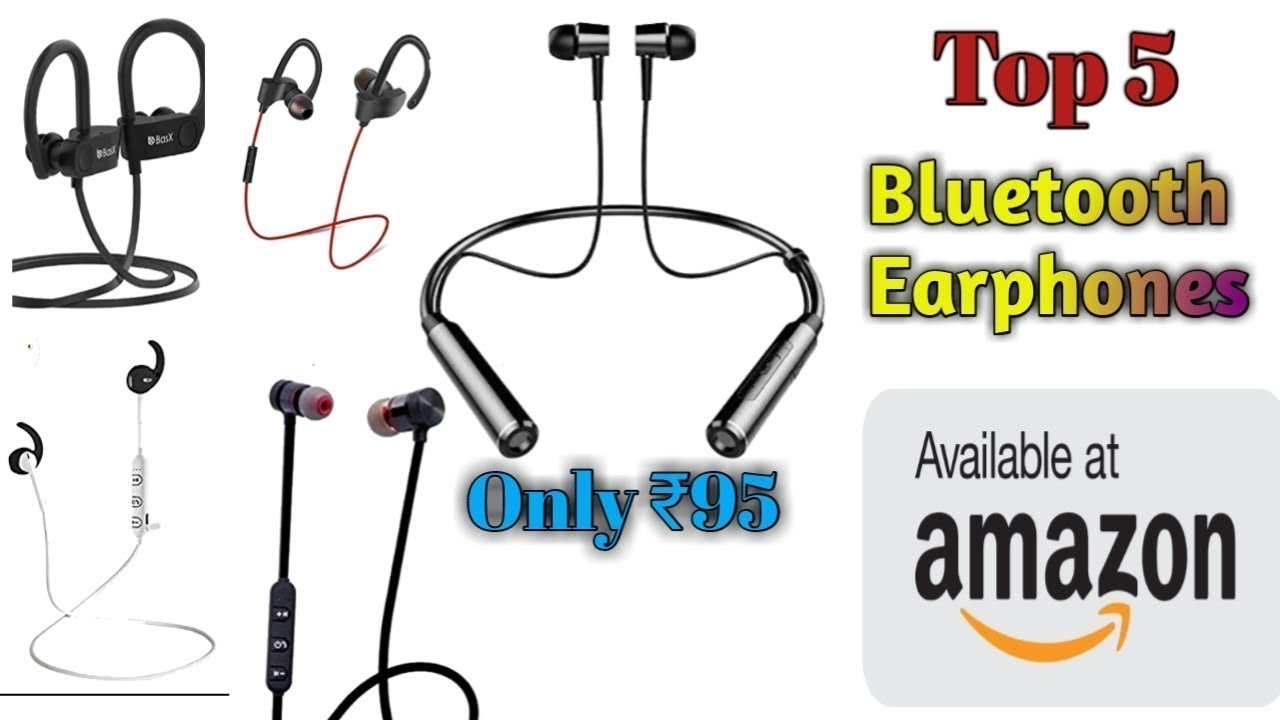 Top Bluetooth Wireless Earphones Under 500 Only 95 Amazon Offer 2020 Youtube