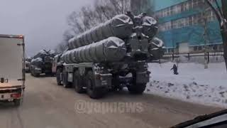 Такого ДТП еще не было сегодня утром зенитная ракетная система С 400 устроила паровозик на Можайском