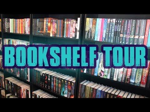 BOOKSHELF TOUR END OF 2013