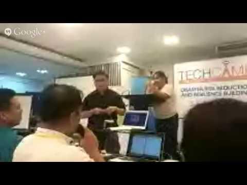 #TechCamp Manila Hackathon presentations