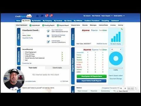 How To Run Simple Audit in Credit Repair Cloud