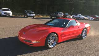 Cherry 2003 Chevrolet Corvette z06 with a amazing low 15k miles flawless
