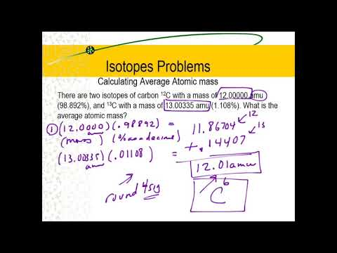 Isotopes_Average Atomic mass problems