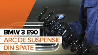 Cum se inlocuiesc arc de suspensie din spate pe BMW 3 E90 TUTORIAL | AUTODOC
