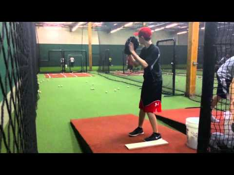 Henry Knight - Pitching Left-handed Using 6 Grips