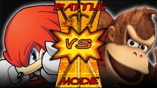 Donkey Kong VS Knuckles | BATTLE MODE Reaction