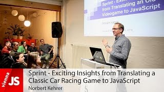 Sprint - Exciting Insights from Translating a Classic Car Racing Game to JavaScript