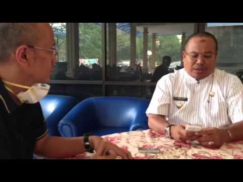 An interview with Dumai's mayor
