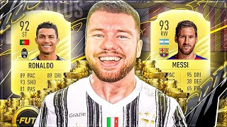 FIFA 21: C. RONALDO vs MESSI SQUAD BUILDER BATTLE 🔥🔥