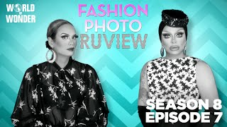 RuPaul's Drag Race Fashion Photo RuView w/ Raja and Raven Season 8 Episode 7