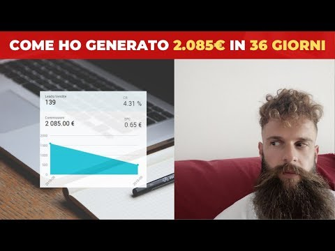 Come ho generato 2.085€ in 36 giorni con l'Affiliate Marketing | Worldfilia