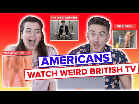 Americans Watch Weird British TV (Supercut)