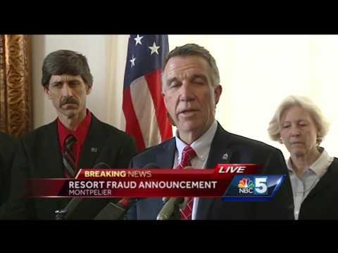 Watch: Vermont governor announces $145M EB5 settlement