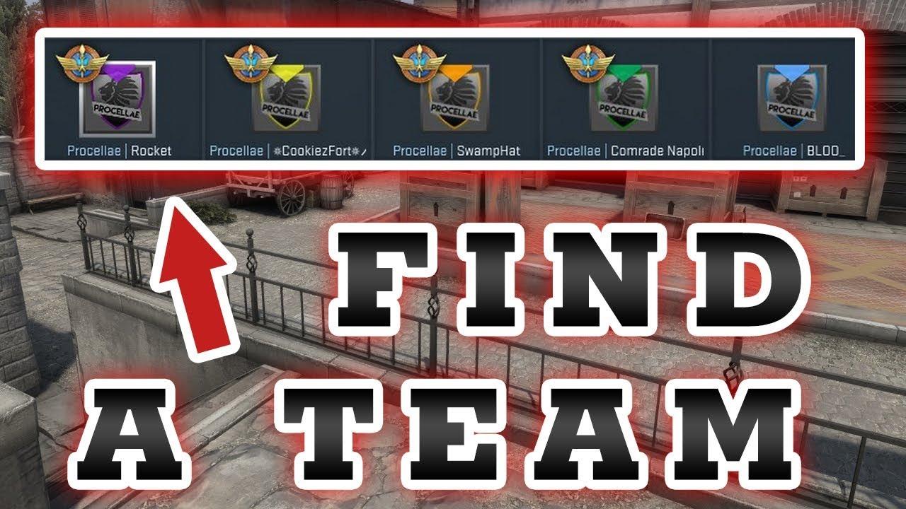 Cs go matchmaking team finder