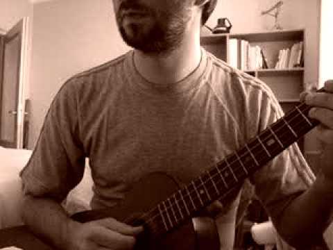 """open tuning baritone ukulele """"father abraham"""""""