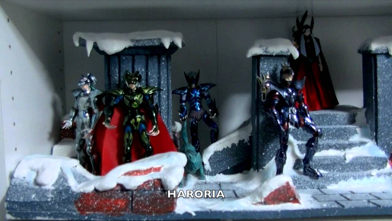 Saint seiya myth cloth diorama 9 youtube - Decor saint seiya myth cloth ...
