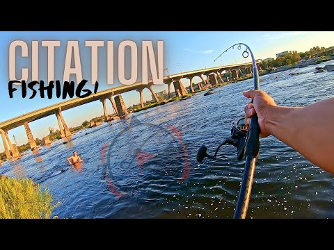 TROPHY Fish In The James River!! (Float Rig!!)
