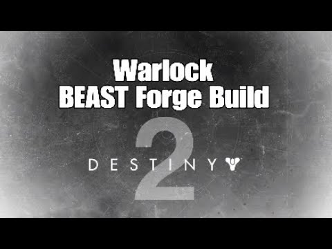 "BEAST Warlock Forge Build ""Hot Lava"" [Destiny 2] The Black Armory"