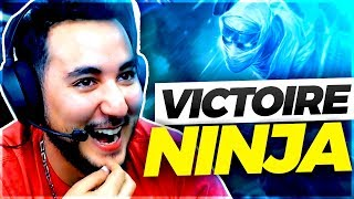 EN MODE  NINJA AVEC LES MANE SUR LEAGUE OF LEGENDS !!!