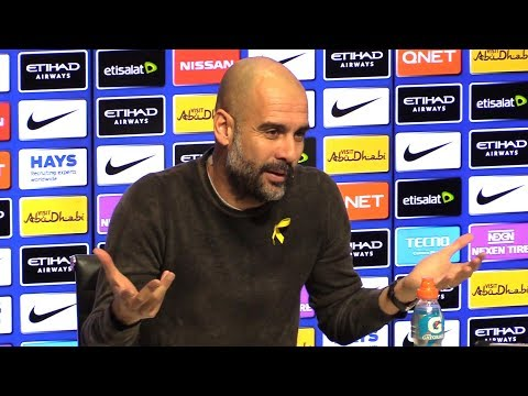 Pep Guardiola Pre-Match Press Conference - Liverpool v Manchester City - Embargo Extras