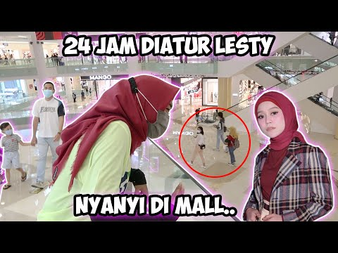 24 JAM DIATUR DEDE LESTY!!! Tahan... Nyanyi Di Mall.