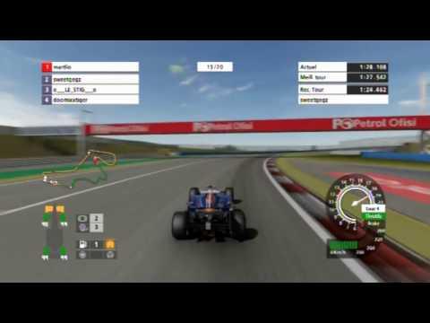 F1 CE, F1 Team PS3, GP Istanbul