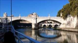 Rome Tiber River Cruise Open Tour - SmartCruiseTours™ Experience