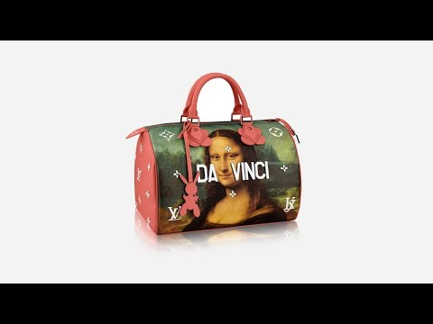 Jeff Koons recreates art masterpieces on Louis Vuitton handbags