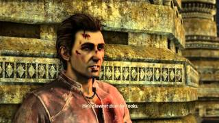 Uncharted Collection: Among Thieves - Chap 25: Harry Flynn Suicide Grenade (Elena Injured) Cutscene