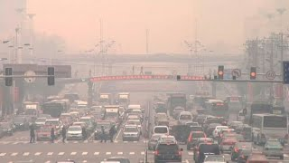 China smog around 50 times WHO recommendations