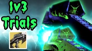1v3 Trials w/ NECROCHASM YEAR 3 Vs. Teabagger! | Destiny