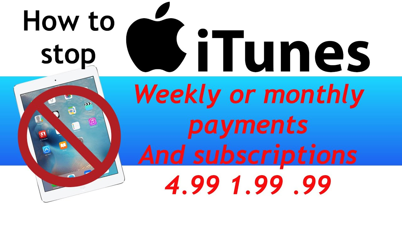 How to cancel subscriptions on ipad and iphone Live Wallpapers £1.99 a week - YouTube