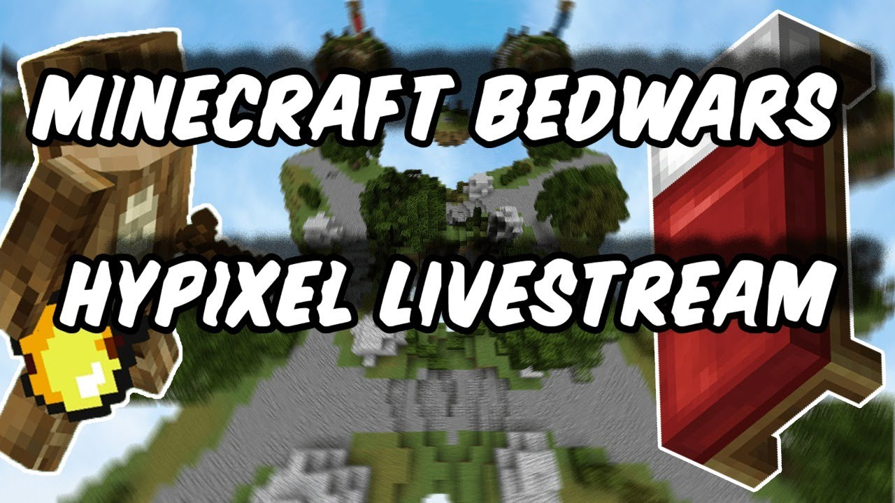 MINECRAFT BEDWARS & SKYWARS HYPIXEL🔴LIVESTREAM🔴 AND MORE