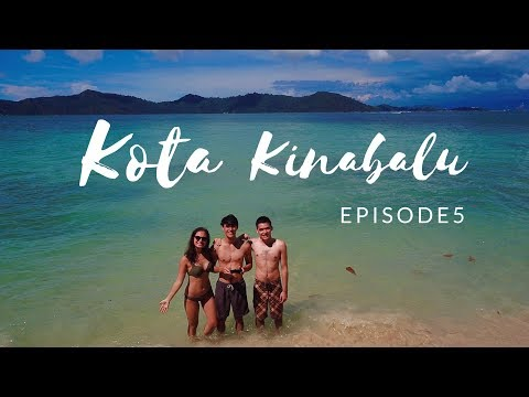 KOTA KINABALU: Manukan, Sapi, Mamutik, & recovering from the hike