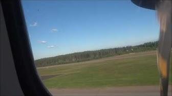 Takeoff finnair, norra,helsinki kuusamo