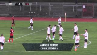 SC Charlottenburg - 1.FC Wilmersdorf (Berlin-Liga) - Spielszenen | SPREEKICK.TV
