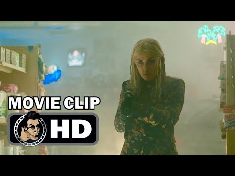 BRIGHT Movie   Convenience Store Shootout 2017 Will Smith tasy Action Netflix Movie HD