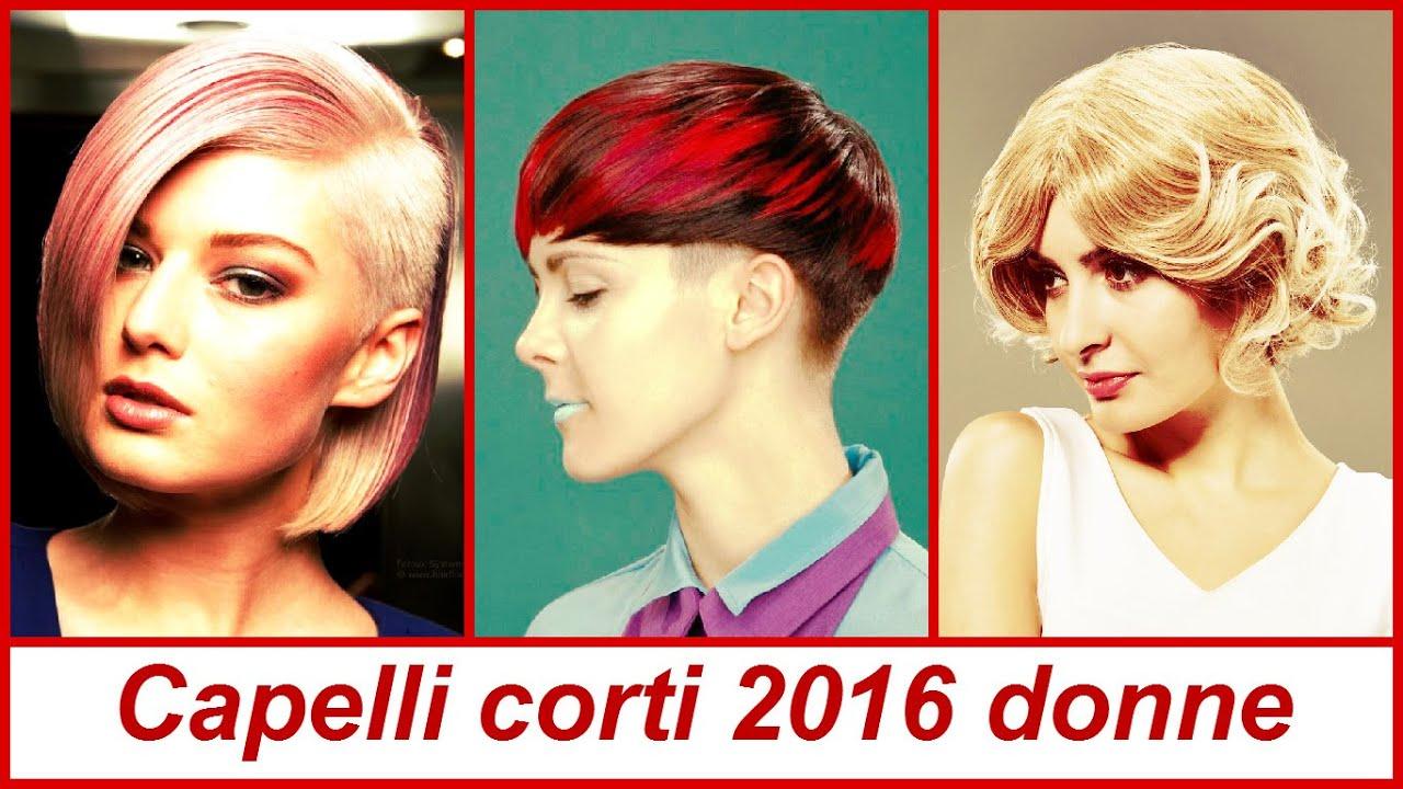 Capelli corti 2016 donne - YouTube