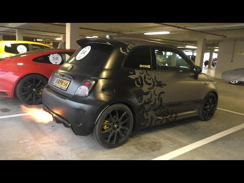 240HP Stage 3 Abarth 500 with Romeo Ferraris Exhaust | LOUD Bangs & Accelerations!